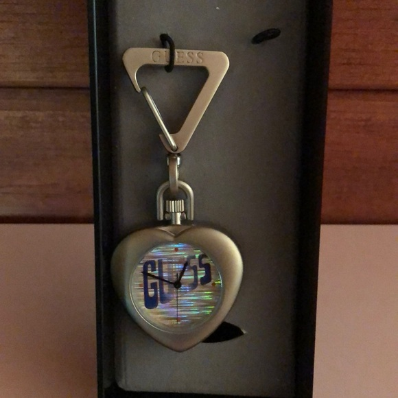 Guess Accessories - GUESS watch key chain in box